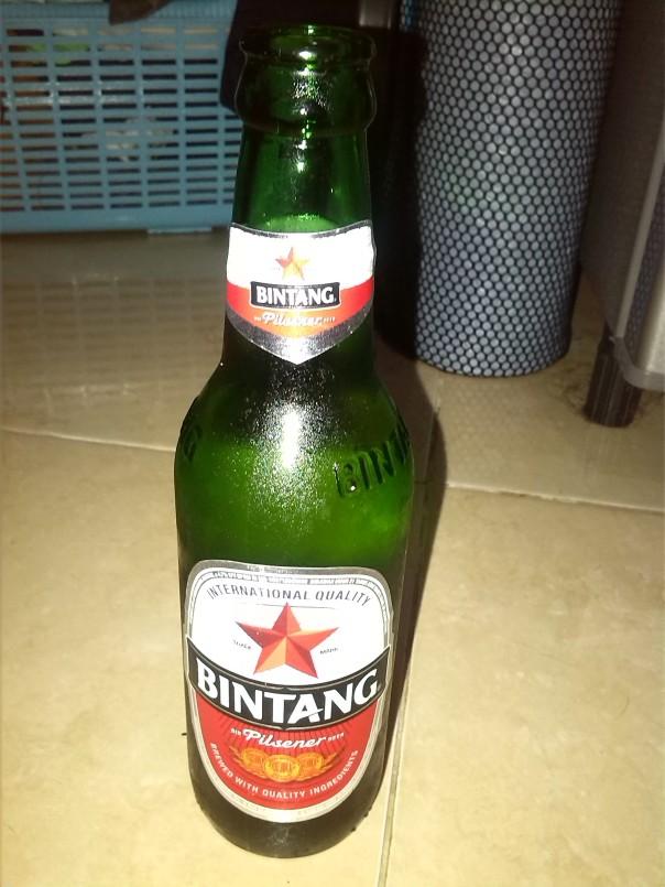 Cerveza local en Indonesia