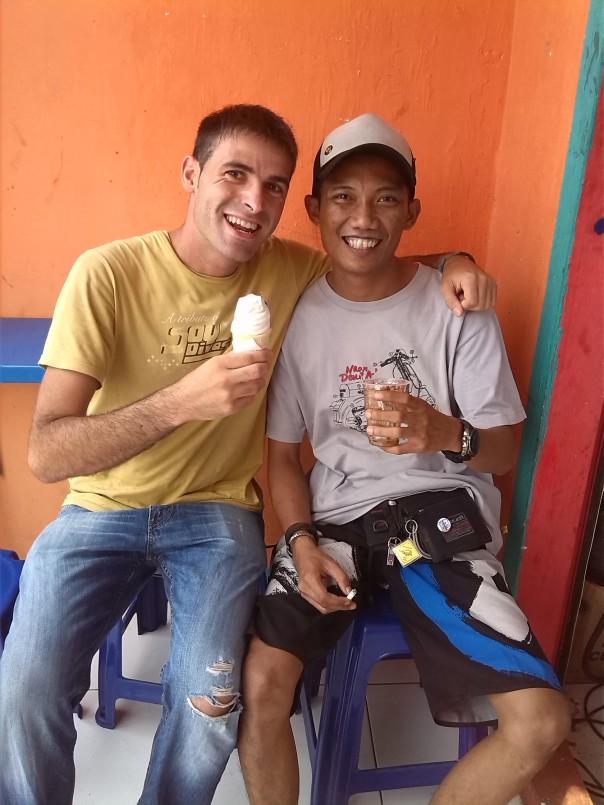 Con Hardi en Jakarta