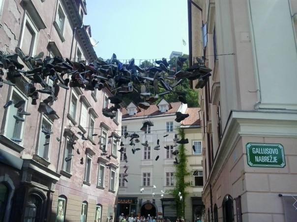 Por las calles de Ljubljana