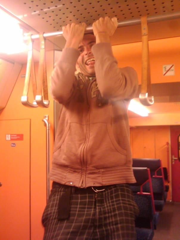En el metro de Viena