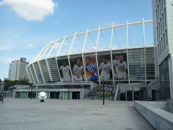 Estadio Olimpico , en Kiev