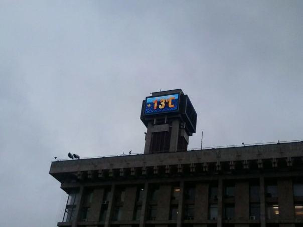 Temperatura en Kiev