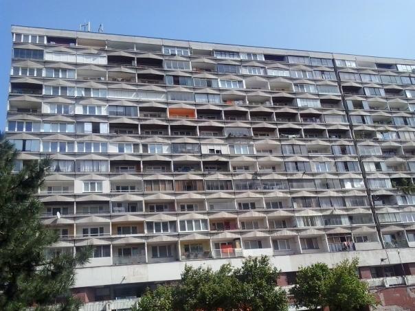 Edificios de la epoca Comunista , en Kosice .