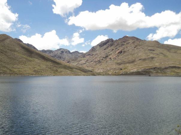 Laguna , en Potosi