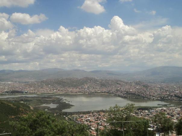 Vistas desde el Mirador , en Cochabamba