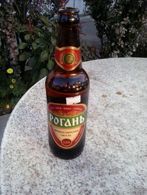 Rica y barata cerveza , en Ucrania