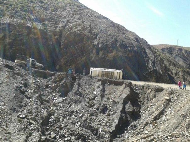 Anomalias en la ruta boliviana