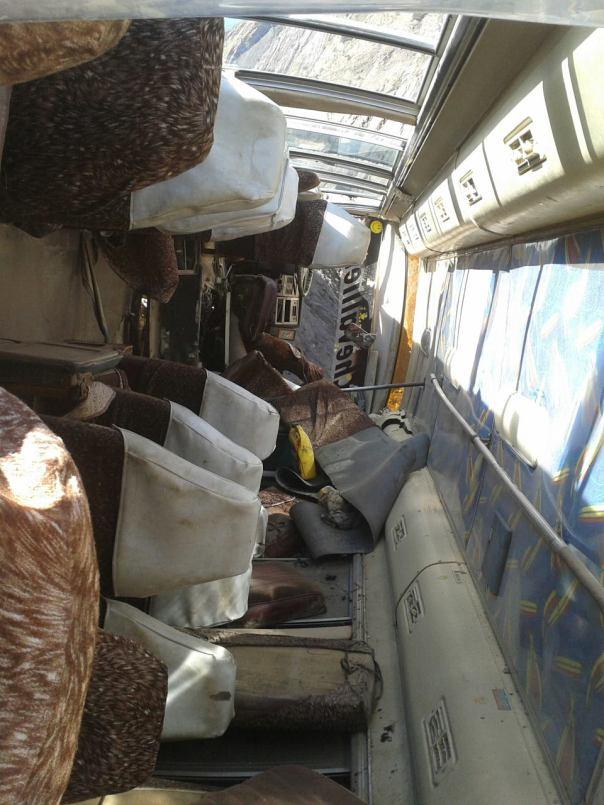 Autobus volcado