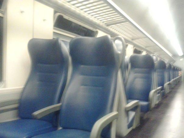 Tren en Italia