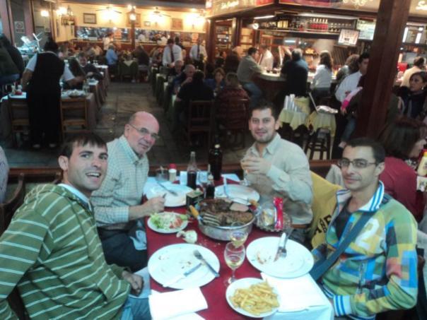 Con Ricardo , Razid y Robin .