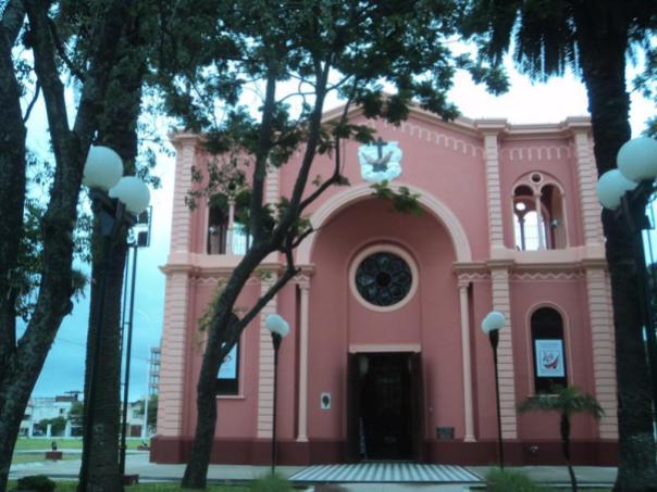Haciendo turismo , en Asuncion .