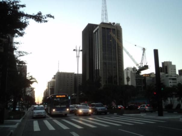 El trafico , en Sao Paulo .