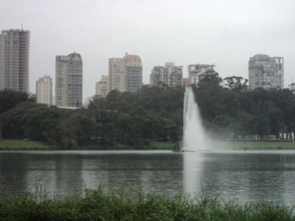 Parque Ibirapuera , en Sao Paulo .