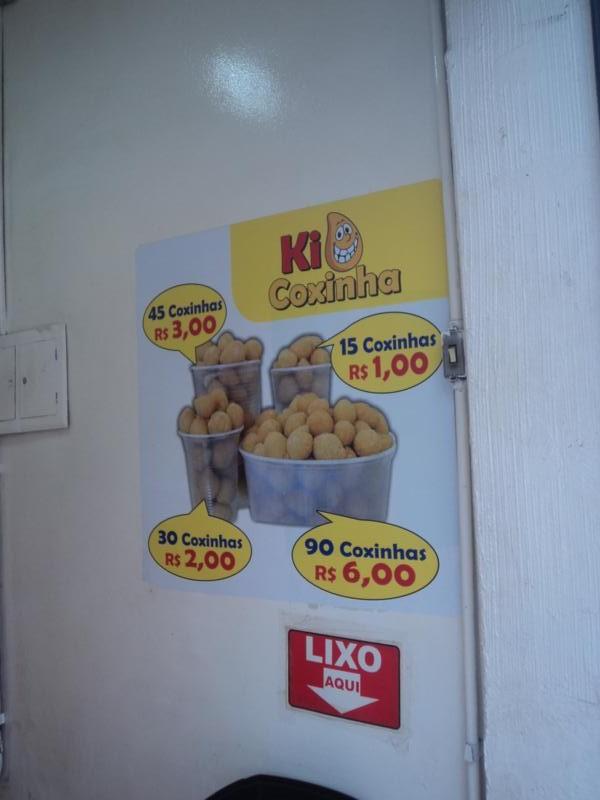Comida callejera , en Bello Horizonte .
