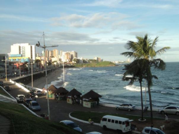 Magnificas playas , en Salvador de Bahia .
