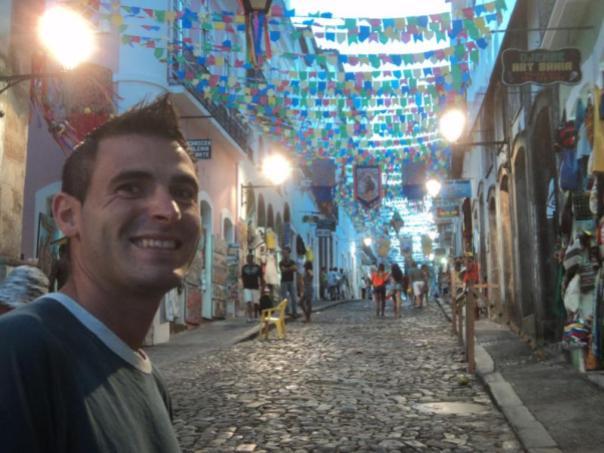 En Pelourinho , Salvador de Bahia .