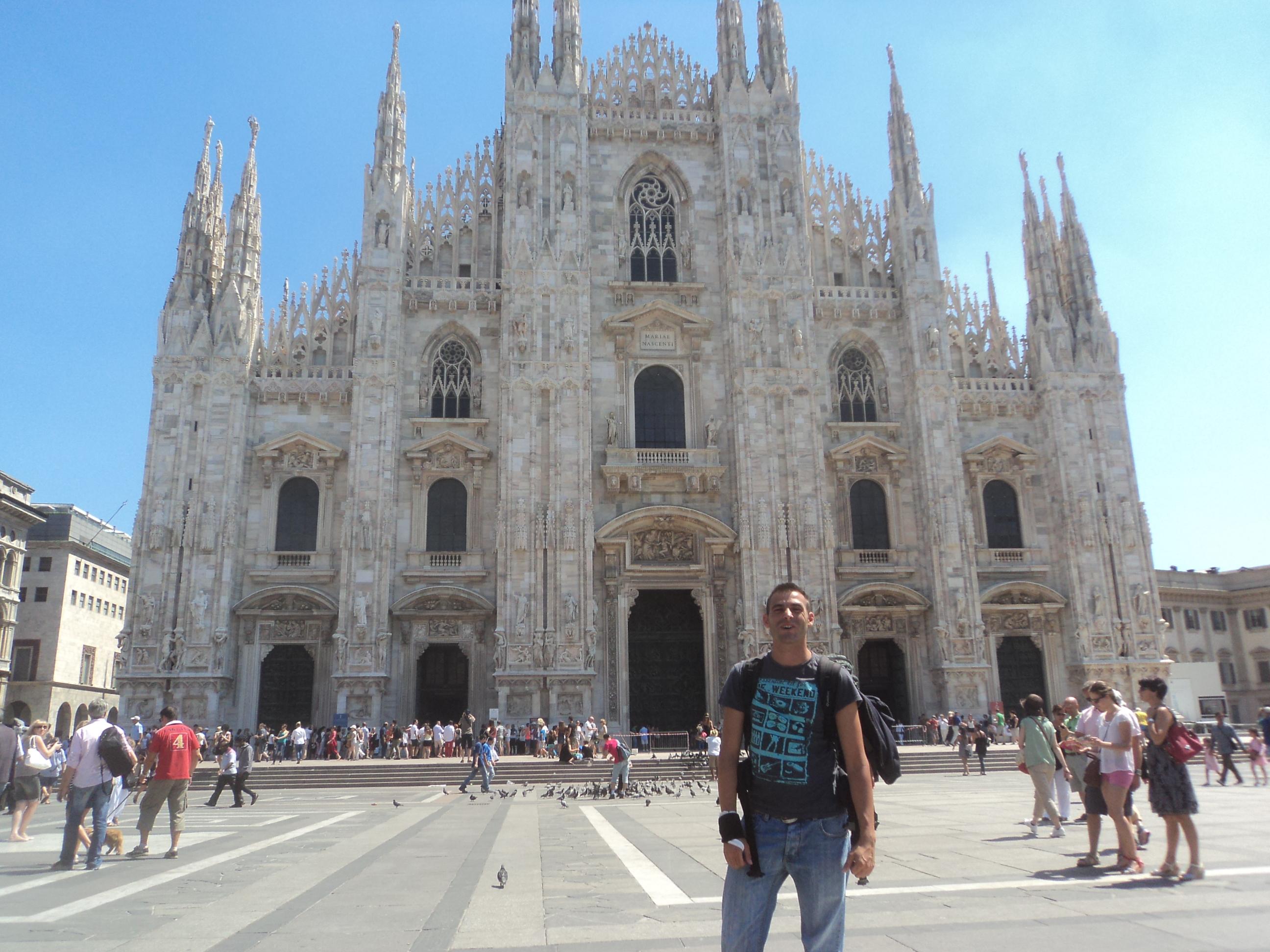 Italia : Milan , Lago di Garda y Trieste