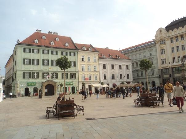 Plaza Centrica , en Bratislava .