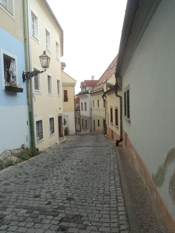 Centro historico , en Bratislava .