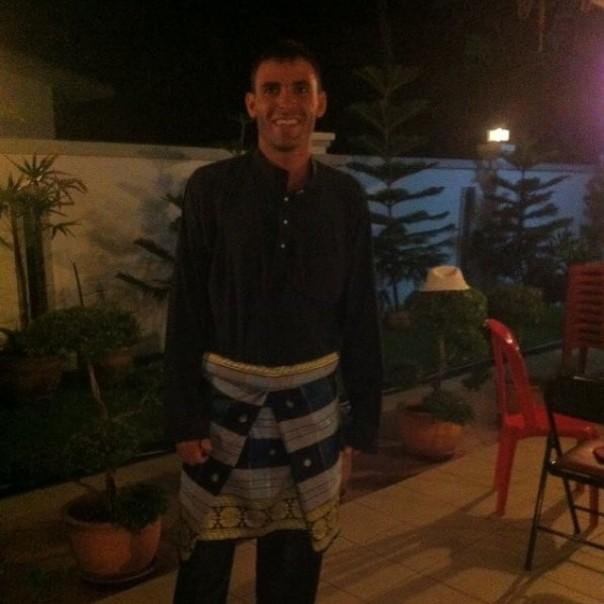 Vestido para el Hari Raya