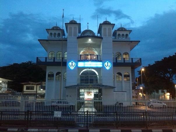 Mezquita , en Kuching