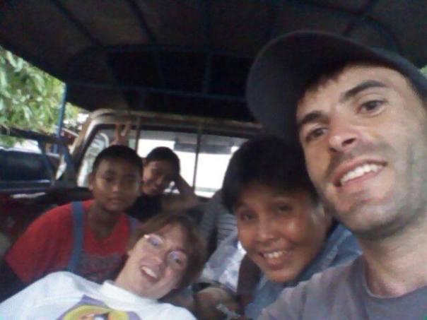 De excursion , con la familia