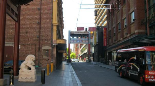 Chinatown , en Melbourne .