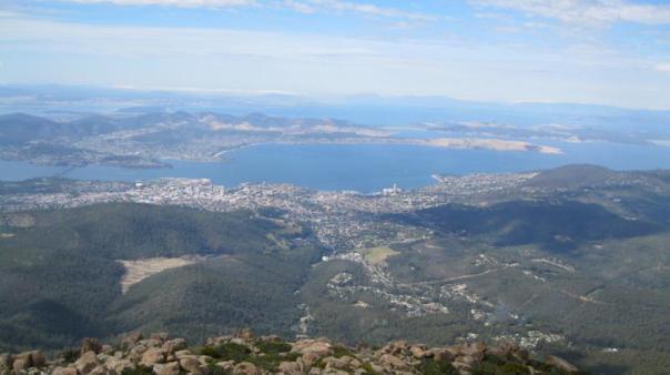 Isla de Tasmania .