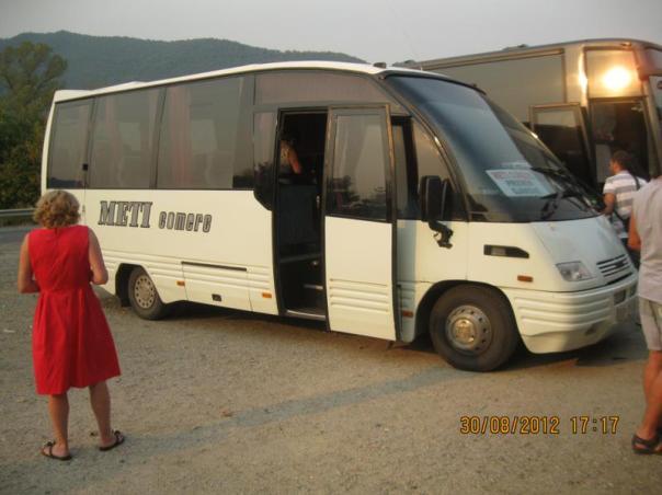 Camino de Prizren , en bus .