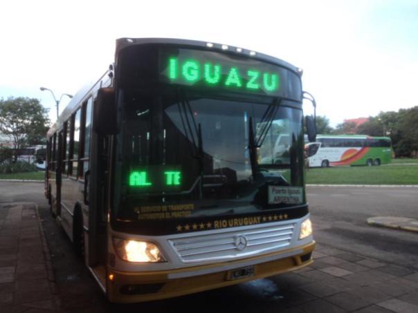 Bus a Iguazu .