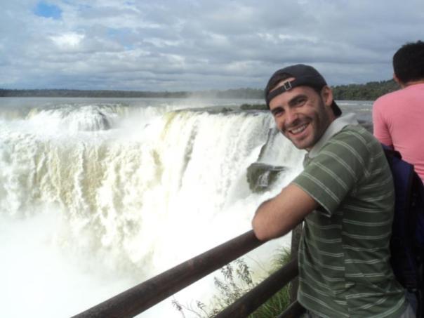 Garganta Ojo del Diablo , en Iguazu .