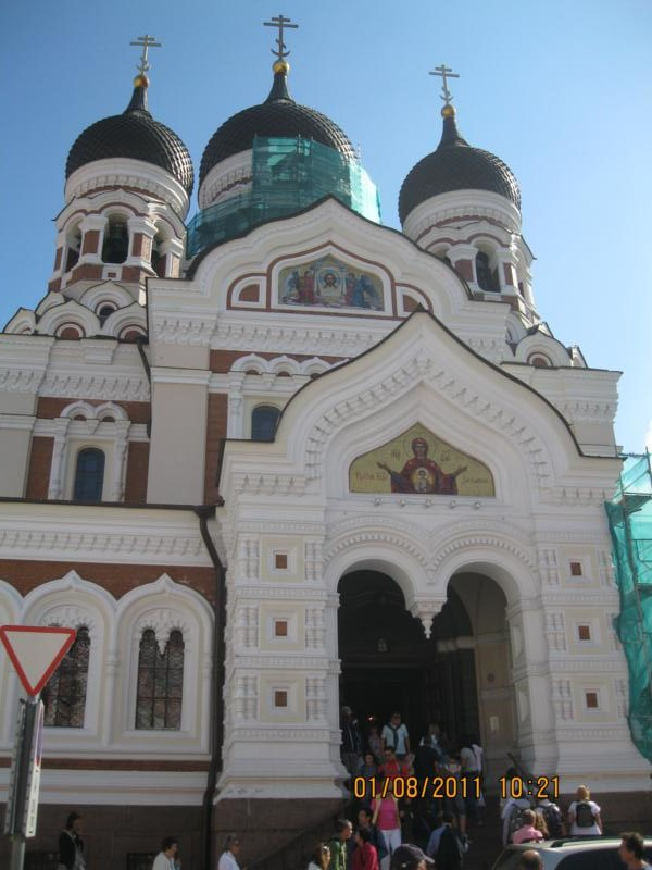 Catedral , en Tallin .