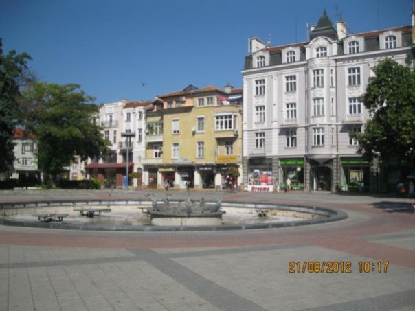 Plaza centrica , en Plovdiv .