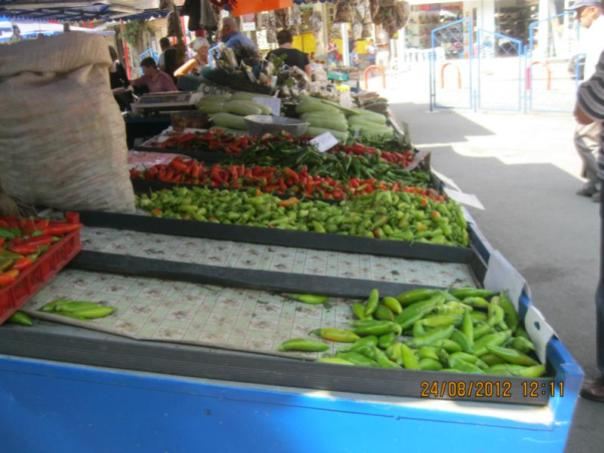 Mercado callejero , en Sofia .