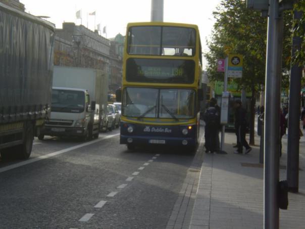 Tipico autobus , en Dublin .