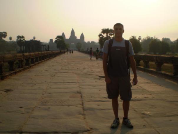 Angkor Wat , en Siem Reap .