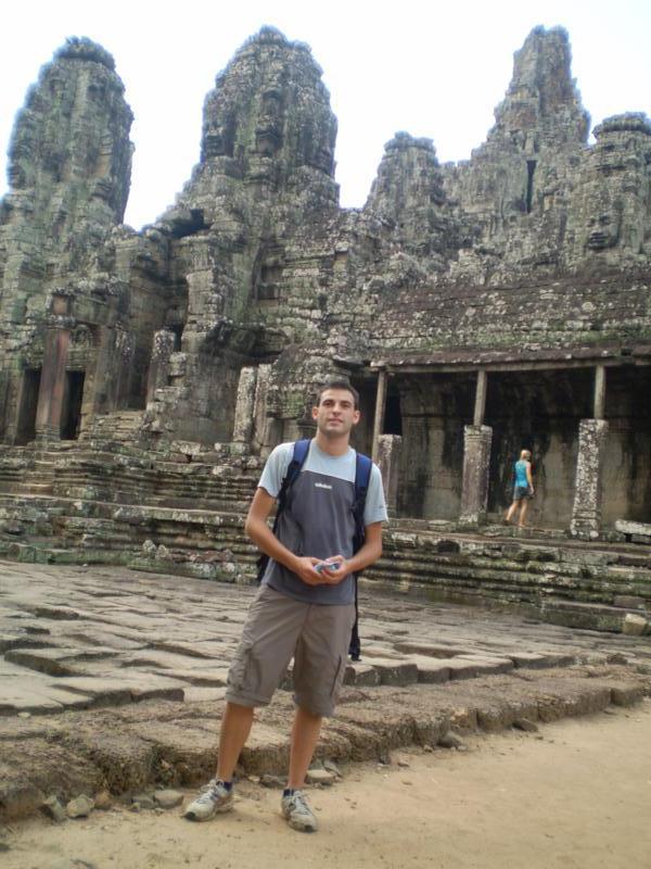 Templos , en Angkor .