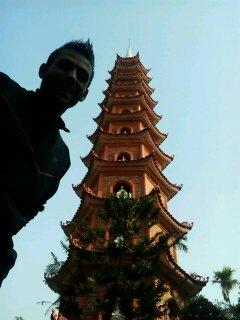 Pagoda , en Hanoi .