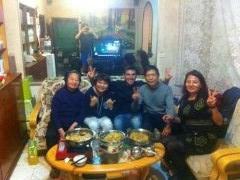 Foto en familia .
