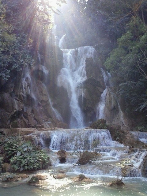 Cataratas de Kuang Si .