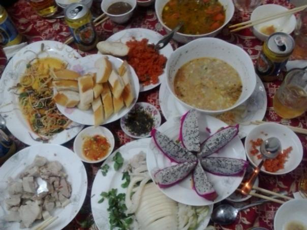 Gastronomia vietnamita .