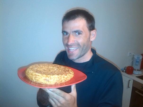 Tortilla española .