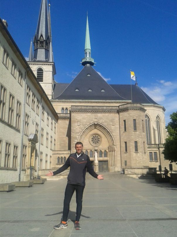 Visitando luxemburgo .