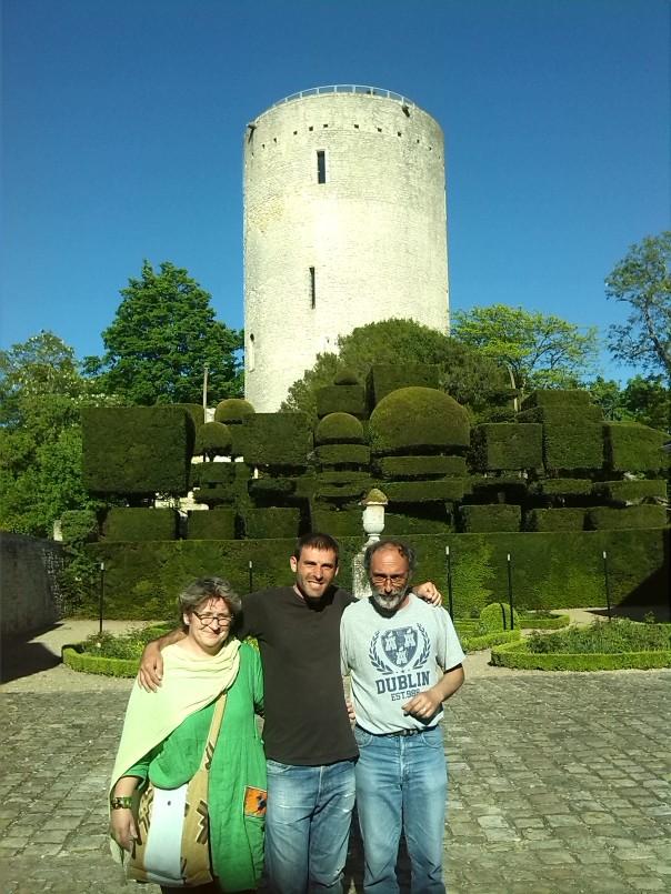 Con Rene y Marie .